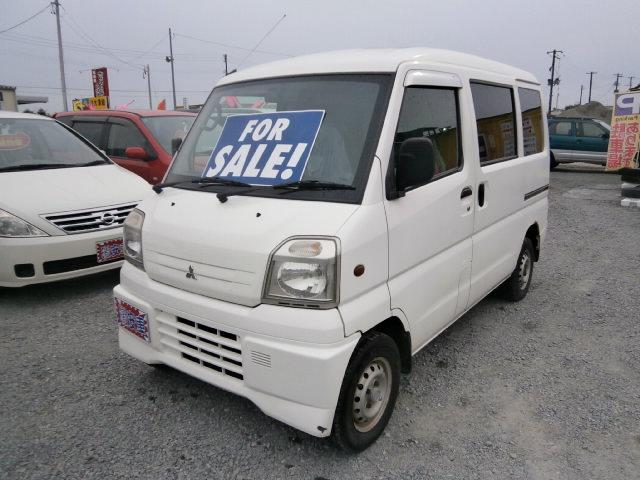 激安車 ミニキャブバン 12年式 4WD 車検30年1月 福島県相馬市発‼のサムネイル