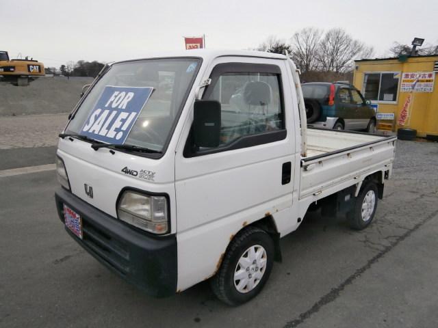 激安車 アクティトラック 10年式 MT 4WD 車検28年10月 福島県相馬市発‼のサムネイル