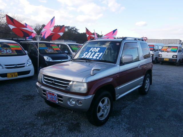 激安車 パジェロミニ 12年式 AT 4WD 車検29年6月 福島県相馬市発‼のサムネイル