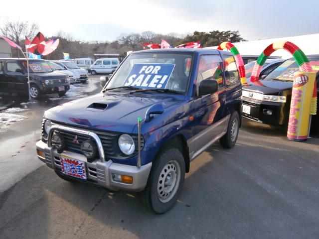 激安車 パジェロミニ 8年式 AT 4WD 車検29年12月 福島県相馬市発‼のサムネイル