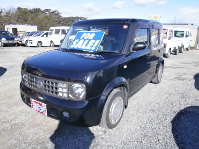 激安車 キューブ 1400cc 17年式 車検31年6月 福島県相馬市発‼のサムネイル