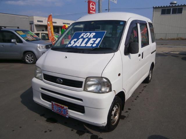 激安車 ハイゼット 14年式 5MT 4WD 車検28年10月 福島県相馬市発‼のサムネイル