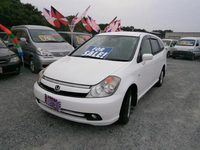 激安車 ストリーム 4WD 1700cc 17年式 車検2年付 福島県相馬市発‼のサムネイル