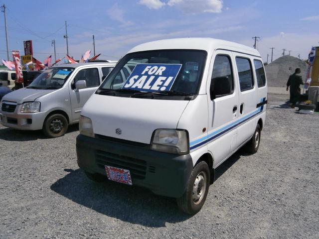 激安車 保証付 エブリィバン AT 11年式 車検30年8月 福島県相馬市発‼のサムネイル