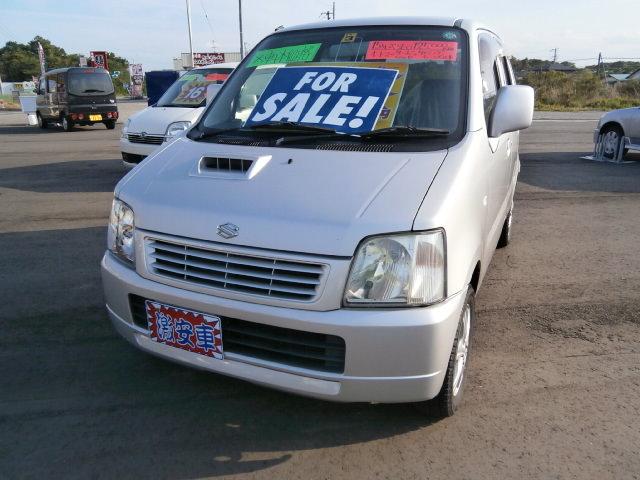 激安車 ワゴンR AT 4WD ターボ 15年式 車検無し 福島県相馬市のサムネイル