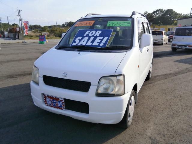 激安車 ワゴンR AT 10年式 車検無し 福島県相馬市のサムネイル