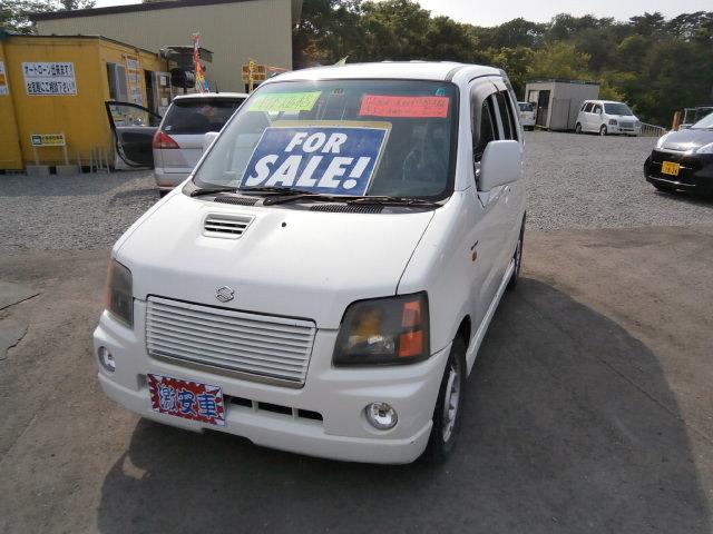 激安車 ワゴンR 4WD ターボ AT 12年式 車検無し 福島県相馬市のサムネイル